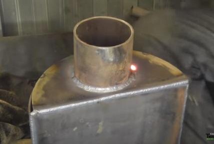 как сделать теплообменник своими руками для отопления