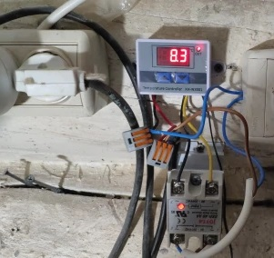 терморегулятор xh w3001 c ТТР