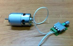 Регулятор оборотов для 775 двигателя 10А